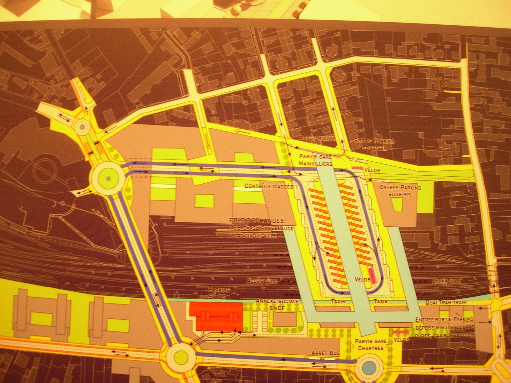 Projet 2007 Plan de circulation