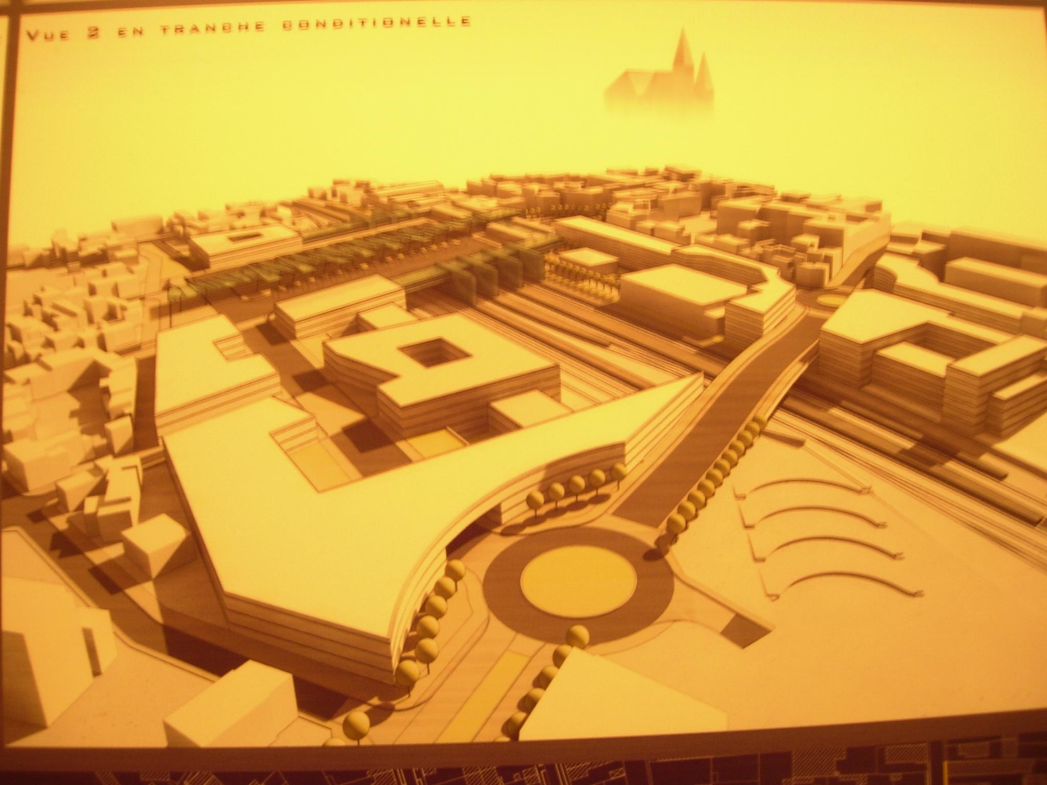 Projet 2007  Vue panoramique